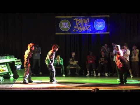 Les Twins vs. OldFuture Crew