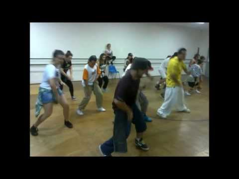 Aula Marcio Dias -  Step Company Valinhos - Without You   Jabbawockeez...