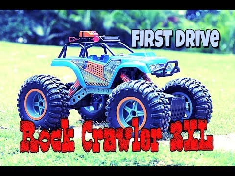 RC cars monster truck India - Off road drive - Maisto Rock Crawler 3XL