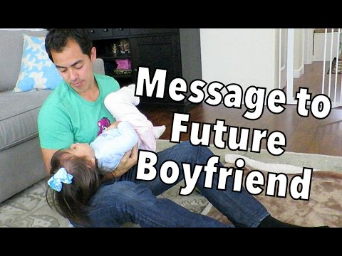 Daddy's Message to Daughter's Future Boyfriend - October 28, 2014 - itsJudysLife Daily Vlog