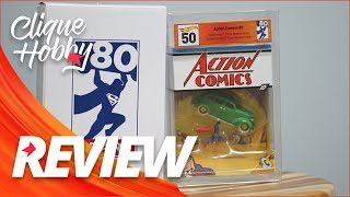 Hot Wheels DC Superman Action Comics #1 Exclusive - 2018 SDCC Mattel Review