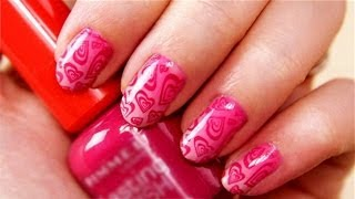 MY HEART BEATS 4 YOU - Valentinstags Nageldesign