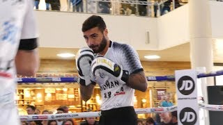 Lewis Ritson back to the GEORDIE GOLOVKIN? Matchroom Boxing workout