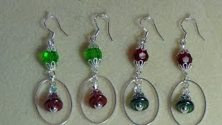 (Tutorial) Christmas Love Earrings (Video 16)