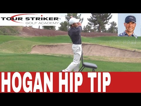 Tour Striker Golf Academy With Martin Chuck - Ben Hogan Hip Action