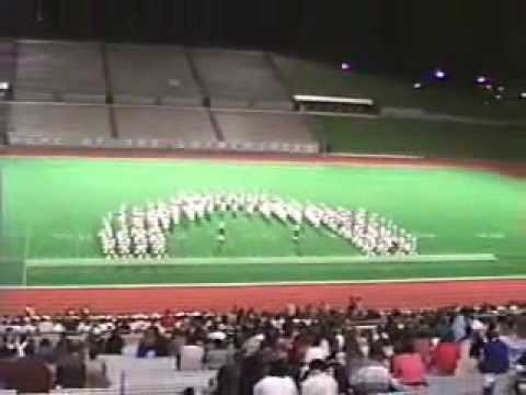 Lufkin High School Panther Band 1990-91