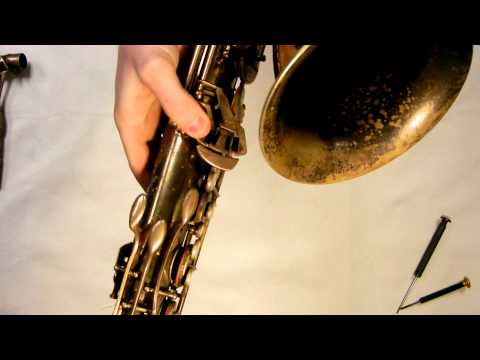 Repairman's Overview: SML Revision D tenor saxophone