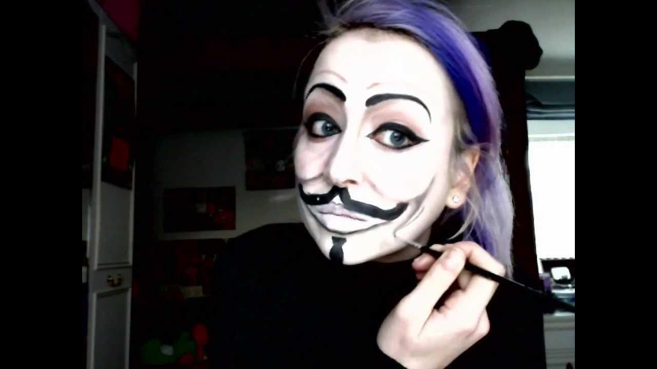 V For Vendetta Painting Guy Fawkes V for Vendetta