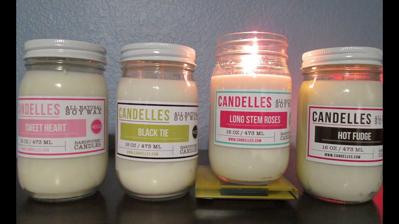 Soy Wax Naturally Scented