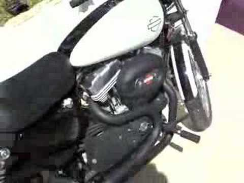 HD Sportster 883/1200 Cold Start and thunderheader system