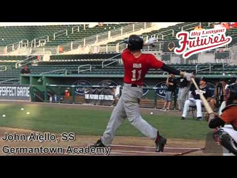 John Aiello, SS, Germantown Academy, Swing Mechanics at 200 fps Left