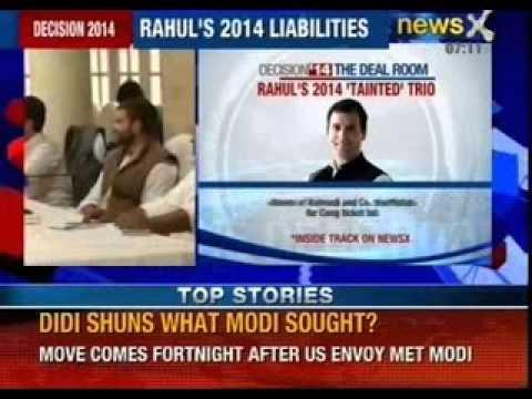 Pawan Bansal, Suresh Kalmadi and Ashok Chavan back in Congress?