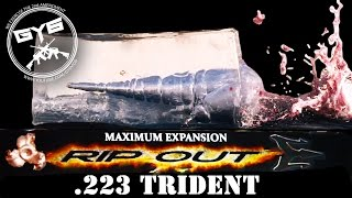 .223 RIPOUT |G2 Research in SLOW MOTION| - GY6 Ballistics Test #14