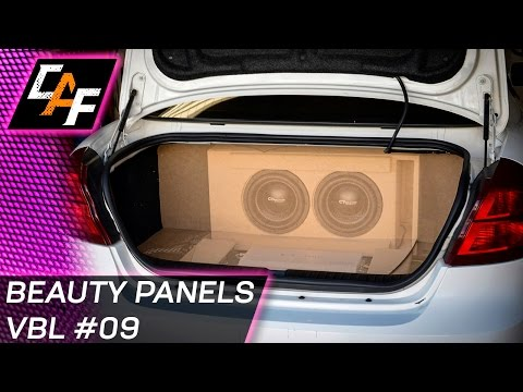 Matching Car Interior Walls - Beauty Panel False Wall - CarAudioFabrication