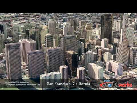 San Francisco 3D Urban Model by PLW Modelworks
