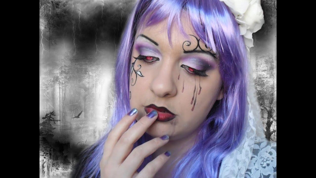 Vampire Gothic Purple Bride