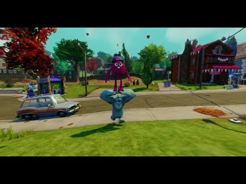 Disney Infinity - Monsters University Play Set - Part 8