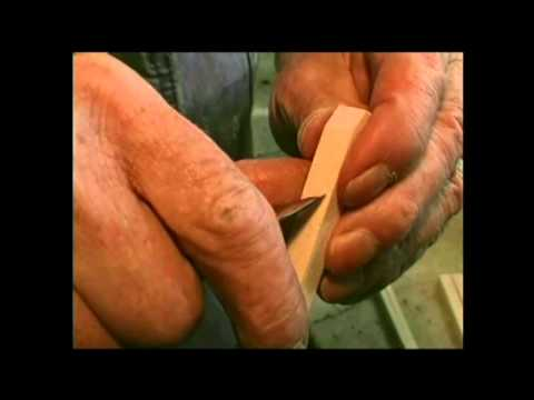 A Whittling Wizard Makes Wooden Pliers With Just