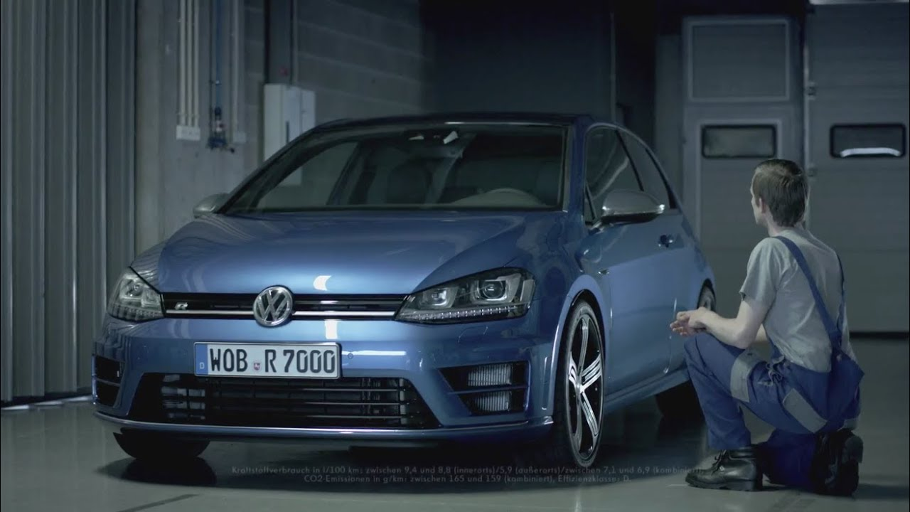 """2014 Volkswagen Golf R commercial """"The lucky one"""" / Neuer VW Golf 7 R 2014 - Spot - YouTube"""