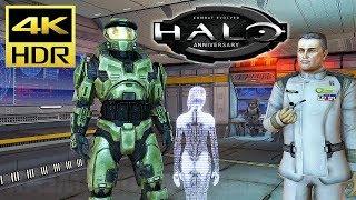 [4K HDR] HALO: Combat Evolved - Xbox One X Gameplay (TMCC) @ 60ᶠᵖˢ UHD ✔