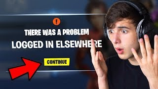 My Fortnite Account was HACKED MID VIDEO..