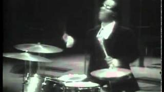 Stevie Wonder Drum Solo (Rare Video)