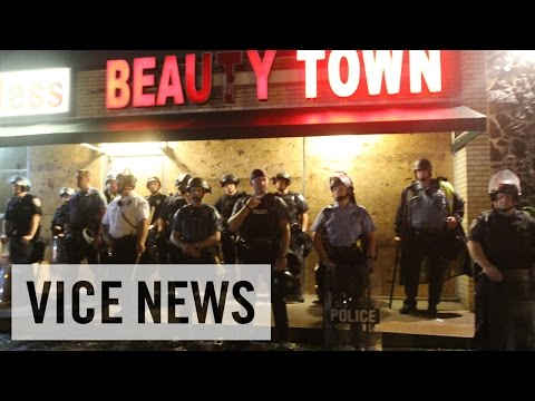Ferguson - Highlights from VICE News Live Coverage 8/17/2014
