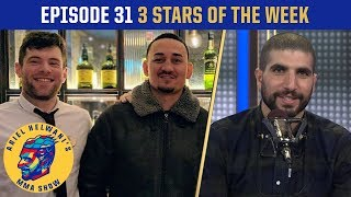 Max Holloway pokes Conor McGregor in Dublin   3 Stars of the Week   Ariel Helwani's MMA Show