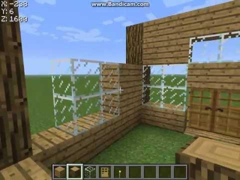 Видео как сделать дом Майнкрафт