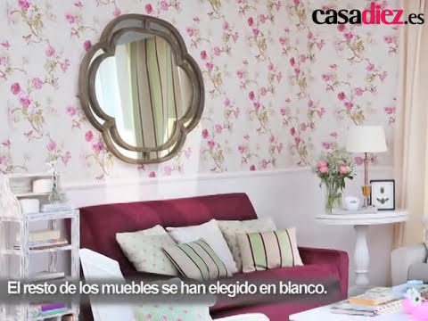 Decorar la pared del salón