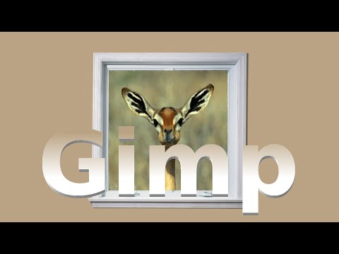 How to add a animation to an image in Gimp 2.8.10 (Re-explained)