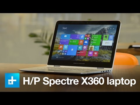 Hewlett-Packard Spectre X360 Laptop PC - Hands On Review