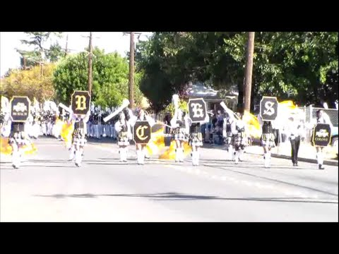 Buhach Colony High School Thunder Band|Delta Band Review 2014