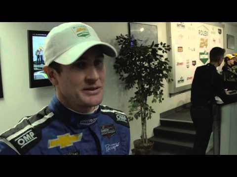 Ryan Hunter-Reay Post Rolex 24