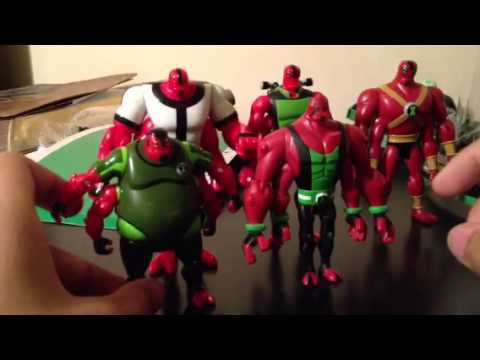 New Ben 10 Omniverse figures Review