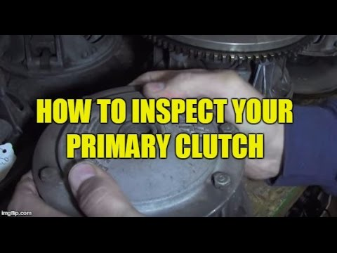 How To Inspect A Snowmobile Primary Clutch