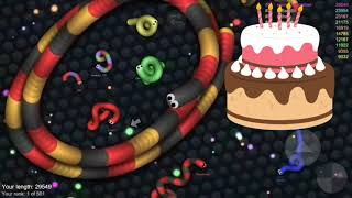 Slither.io  game in funny way😊😊😊😊😊😊😊😊😊