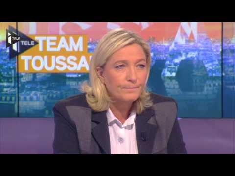2014 Septembre 26 iTele Marine Le Pen