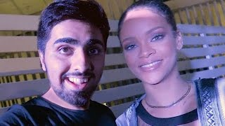 Meeting RIHANNA !!!
