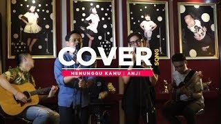 MENUNGGU KAMU - ANJI (LIVE COVER) USSY SULISTIAWATY Feat. ALGHUFRON