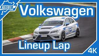 Leon CUPRA - GTI Clubsport - Scirocco GT24 - 1st steps back to SPEED - Nürburgring Nordschleife 4K