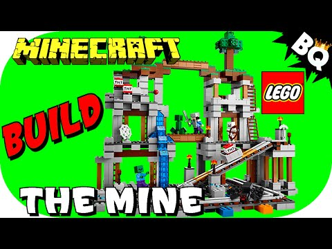 LEGO Minecraft The Mine 21118 Flash Speed Build
