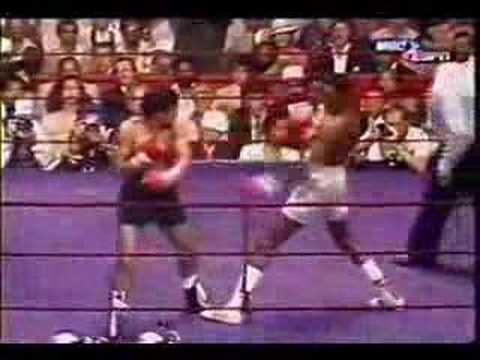 Thomas Hearns v Pipino Cuevas Video