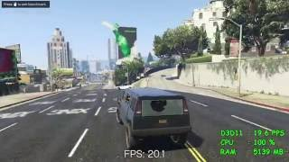AMD A6-7400K -- Radeon R5 series -- Grand Theft Auto V -- GTA V Benchmark