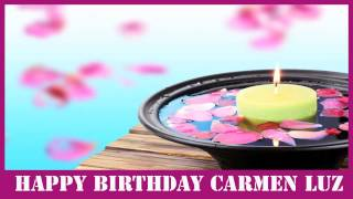 Carmen Luz   Birthday Spa