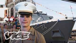24 Hours with Female Marines in NYC: Fleet Week
