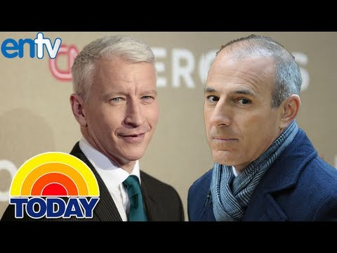 Anderson Cooper Replacing Matt Lauer On the Today Show - ENTV