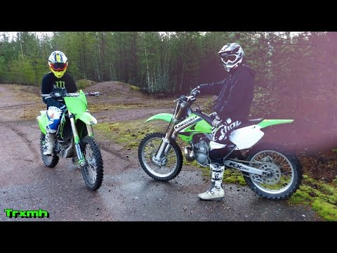 Dirt Bikes KX250 and KX250F