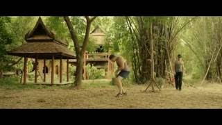 KICKBOXER: VENGEANCE  - Splits and Training Elbows on Coconuts