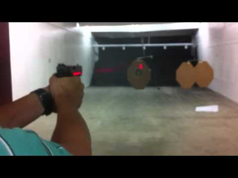 Glock 17 Gen 4 with Crimson Trace laser